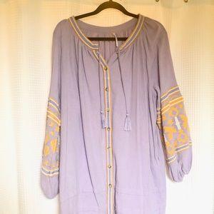 Free People Lavender Dress